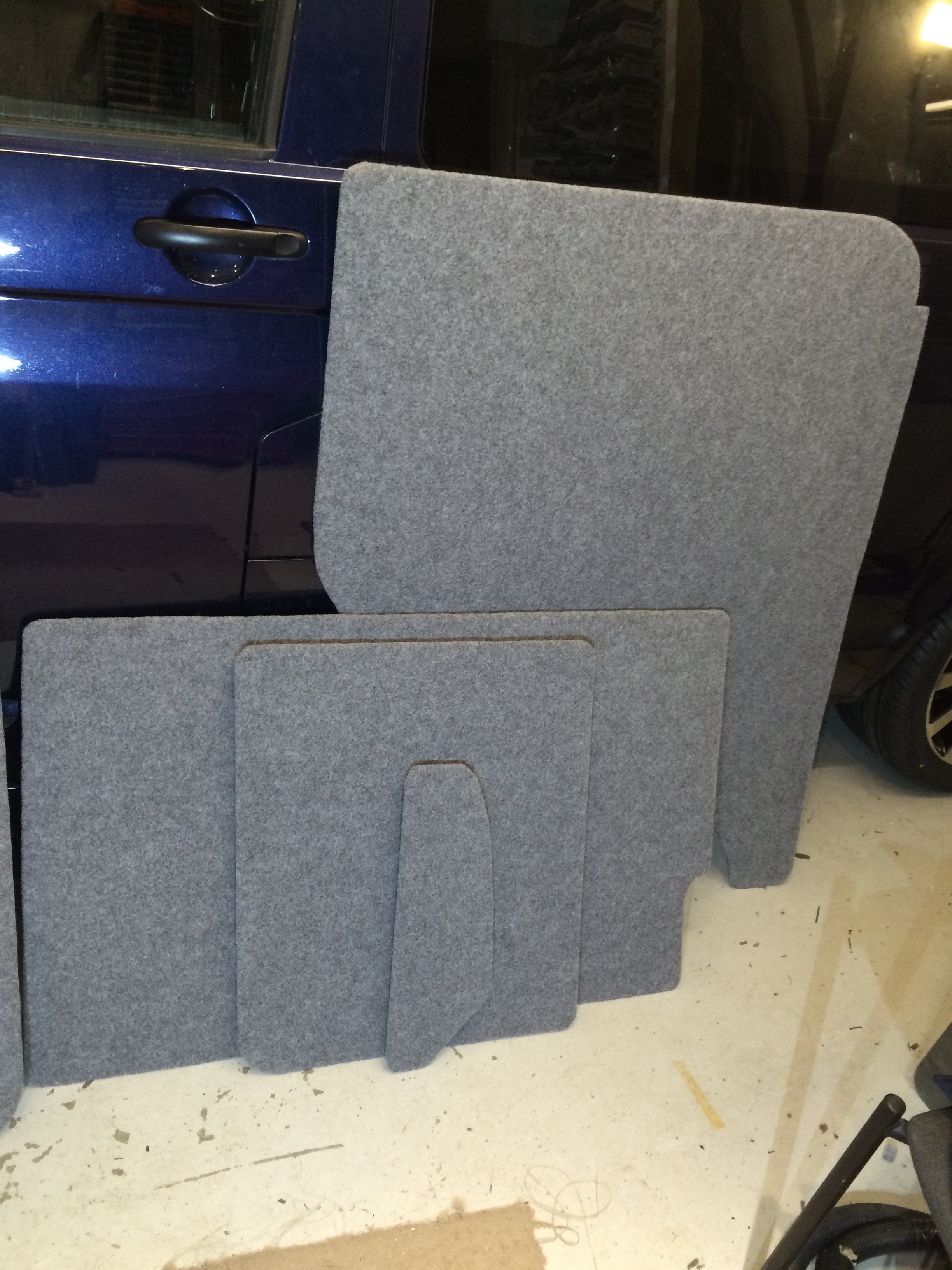 T5 T6 Carpeted Ply Lining Set Blueskyconversions
